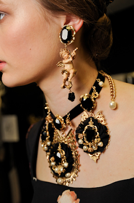Dolce and Gabbana Style Earrings