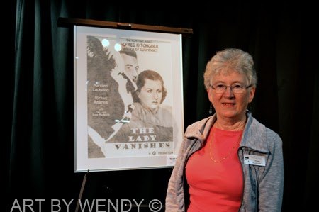 The Lady Vanishes Poster - Winner in the Silver Screen Competion