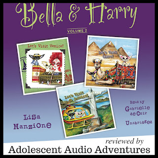 Adolescent Audio Adventures reviews Bella and Harry volume two