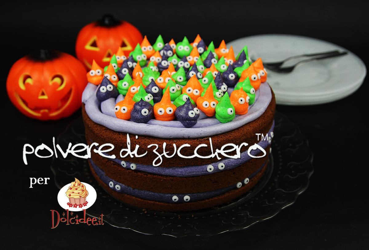 torta mostricciattoli halloween cake design torta idea halloween festa bambini polvere di zucchero