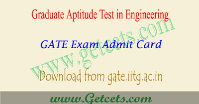 GATE admit card 2021 download @gate.iitg.ac.in