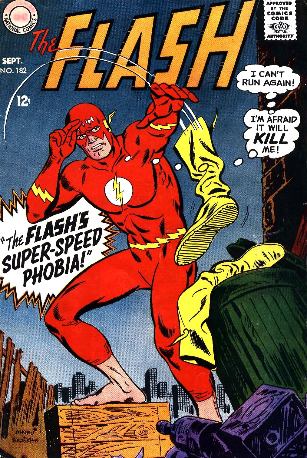 The Flash (1959) 182 Page 1