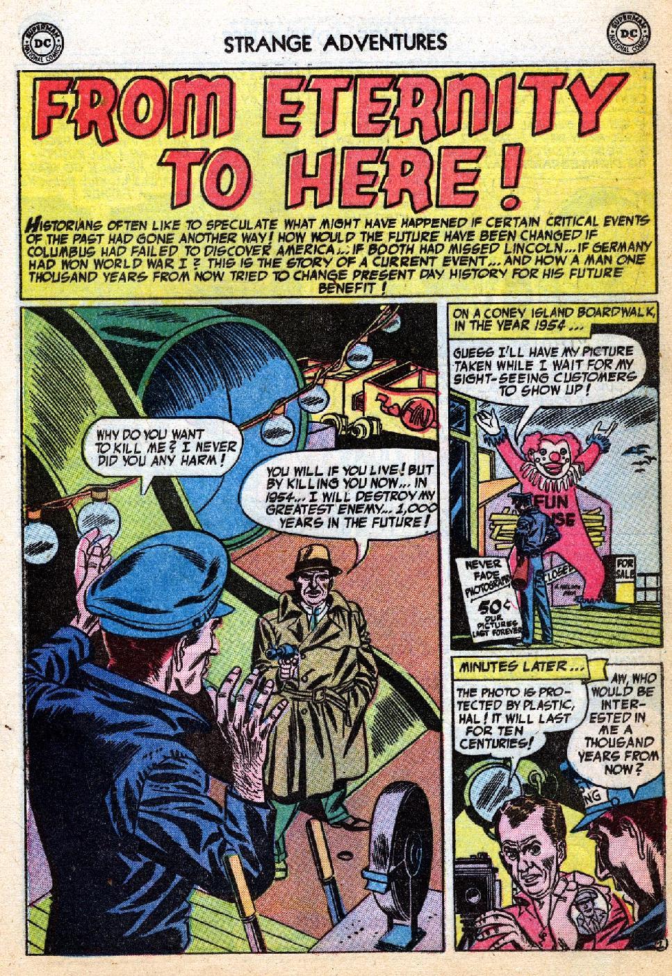 Comic Strange Adventures (1950) issue 40