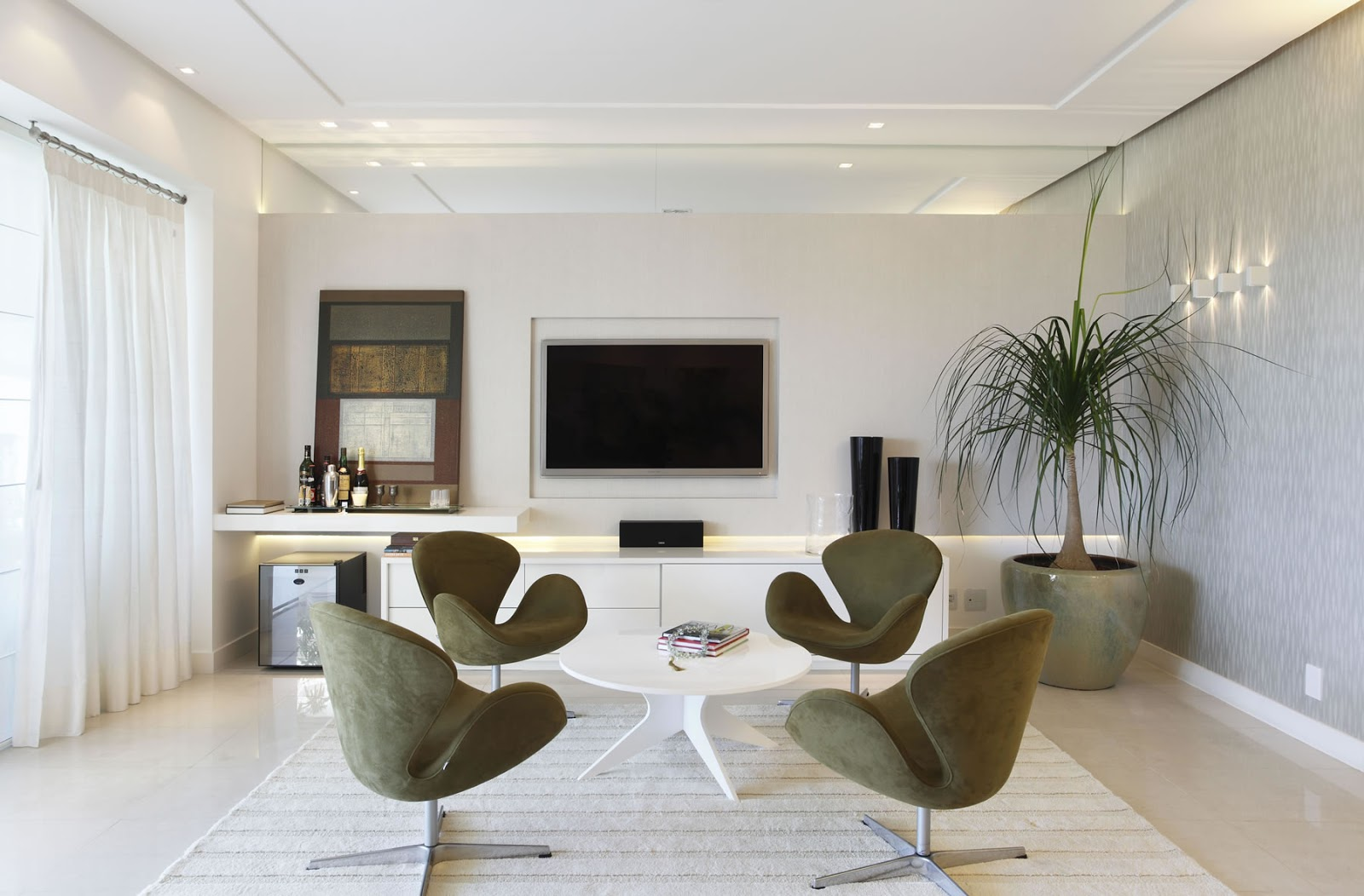 Salas de bate papo integradas s salas de tv tima dica for Sala de estar sims 4