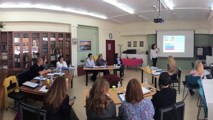 1η Διεθνική Συνάντηση στο 3ο Γυμνάσιο Αλεξανδρούπολης «Δόμνα Βισβίζη»