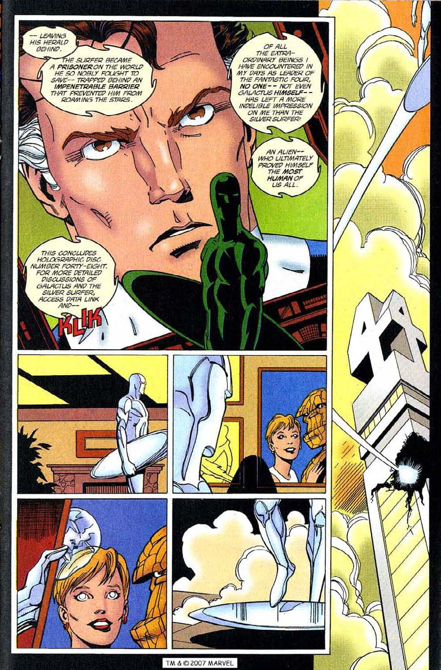 Read online Silver Surfer (1987) comic -  Issue #123 - 21