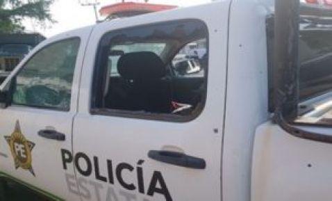 """VIDEO; Comando """"rafagueando"""" sin piedad y con rifles de alto calibre a Fuerza Tamaulipas"""