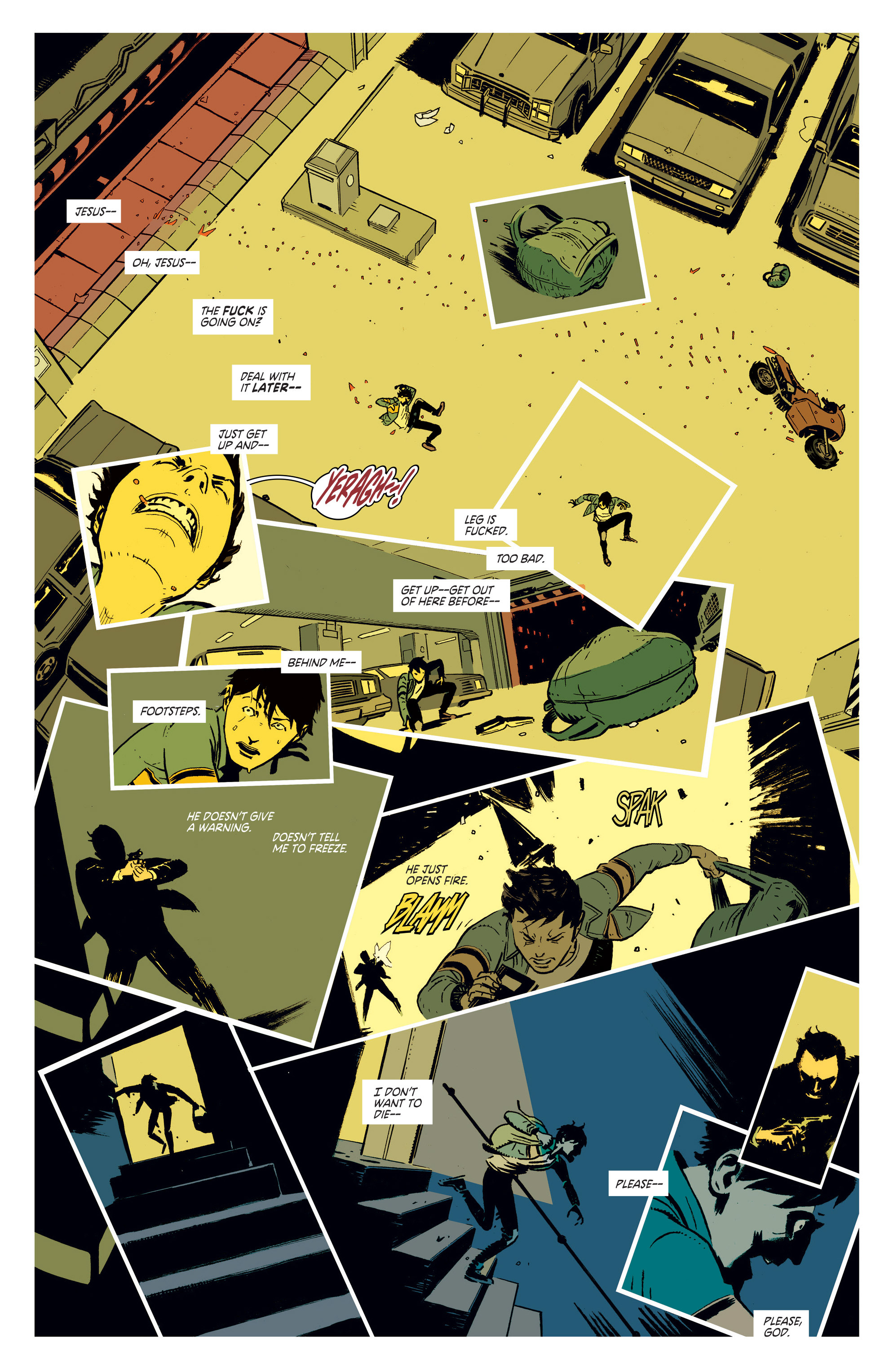 Read online Deadly Class comic -  Issue #1 - 21