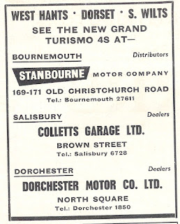 Stanbourne Motor Company advert from Motor 14 November 1964