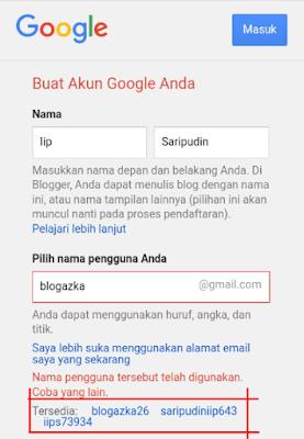 Cara Membuat Akun Google Blogazka Com