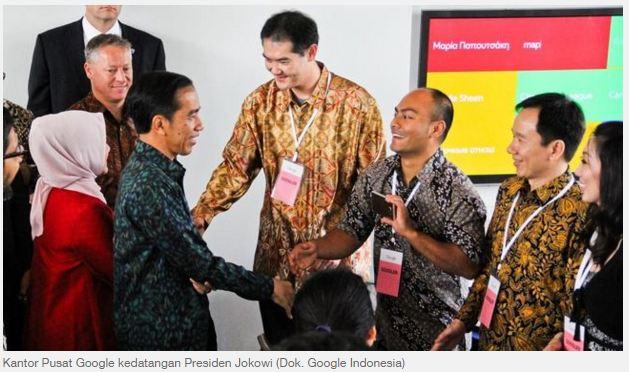 Dalam Kunjungan Ke Amerika, Presiden Jokowi Menyuruh Pulang Ahli IT Indonesia Di Sana