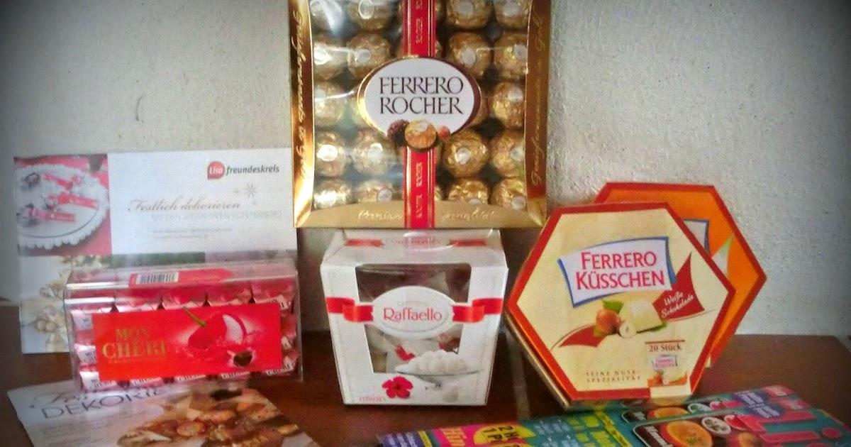 Ein Kleiner Blog Ferrero Spezialitäten