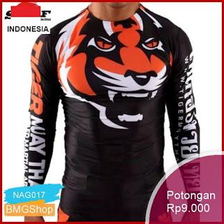 NAG017 Baju Sport Pria Tiger Muay Thai Murah Bmgshop
