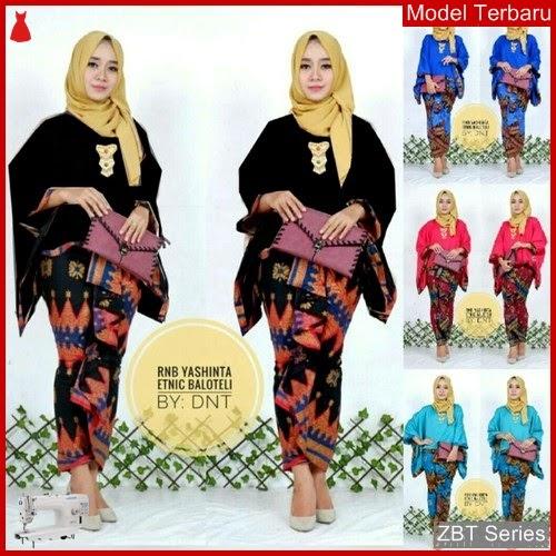 ZBT10409 Kebaya Batik Couple Wanita Yasinta Batwing BMGShop