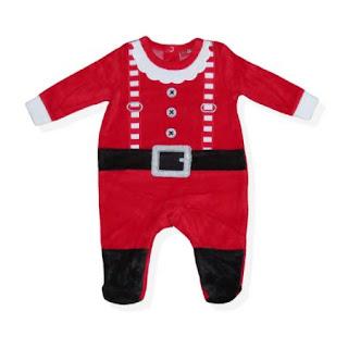 Costum Mos Craciun bebe 3-6 luni cumpara aici