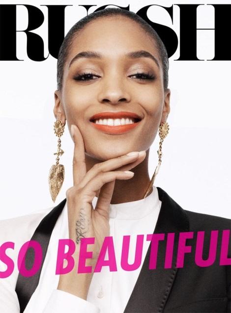 Jourdan Dunn Russh Magazine