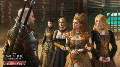 صورة  لتجربة العبة ذا ويتشر 3 وايلد هانت The Witcher 3 Wild Hunt في جهاز الحاسوب