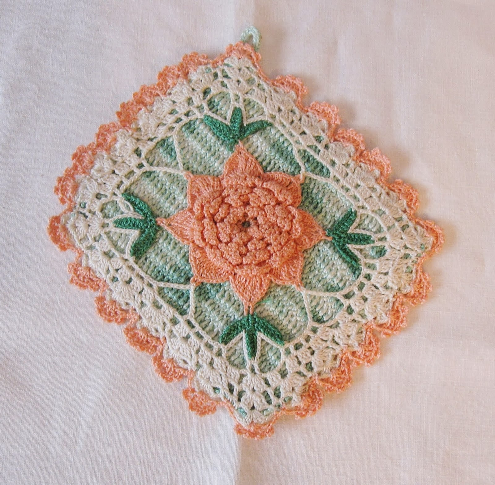 The Art of a Crochet Potholder