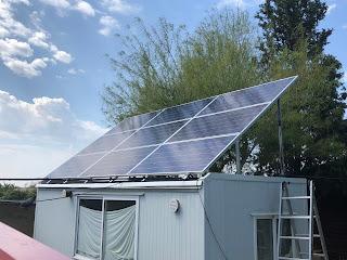 panel solar fotovoltaico policristalino csun 24v 330wp 72 celulas estructura de aluminio reforzado vela doble