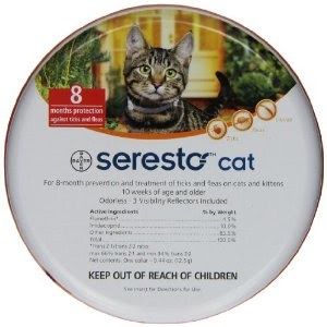#Seresto Cat Collar container Carma Poodale