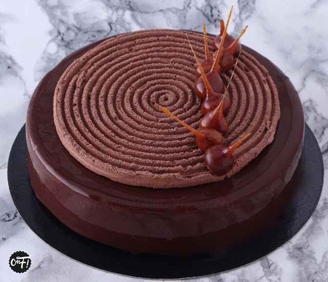 RECETTE DU TRIANON OU ROYAL AU CHOCOLAT