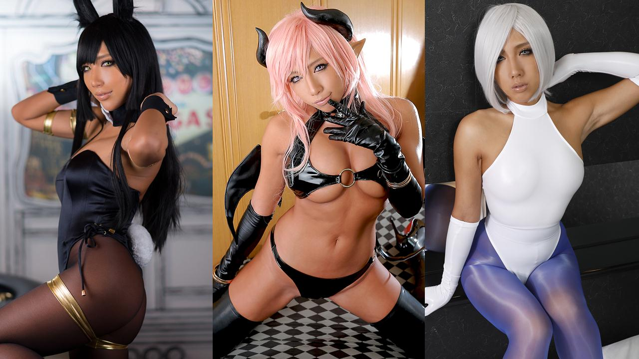 hottest dark skin cosplayer