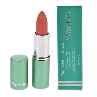 Wardah Exclusive Lipstick No.48 rosemary