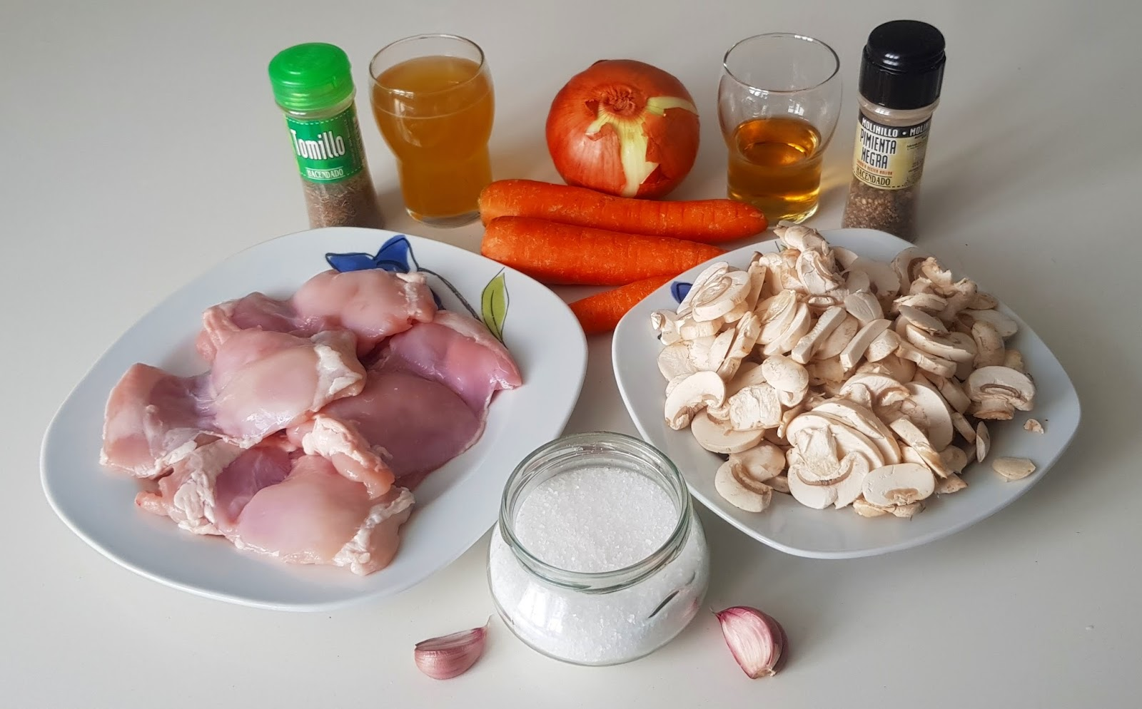 Recetas y a cocinar se ha dicho pollo con verduras al Cocinar con 5 ingredientes