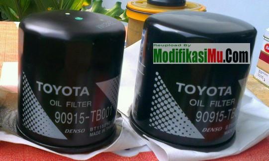 Filter oli Merk Denso 90915 - TB0001 Toyota Oil Filter - 8 Cara Merawat Mobil Diesel dan Turbo Agar Tidak Cepat Rusak