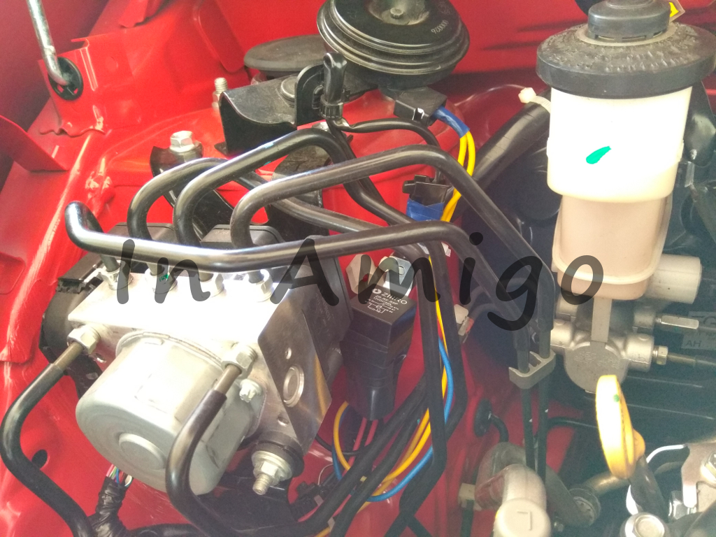 Upgrading From Factory To Bm Horn For Perodua Axia Hella 12v 40a Relay Besides Wiring Diagram On The Stock Cable And Connector Are Still Retained I Dont Even Want Cut Original As Can Revert Back Old Setup At Anytime