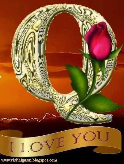 VISHAL GOSAI: Beautiful Alphabet A to Z - I Love You
