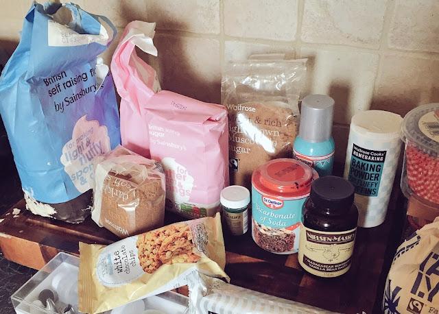 Baking Mojito Cuptail ingredients