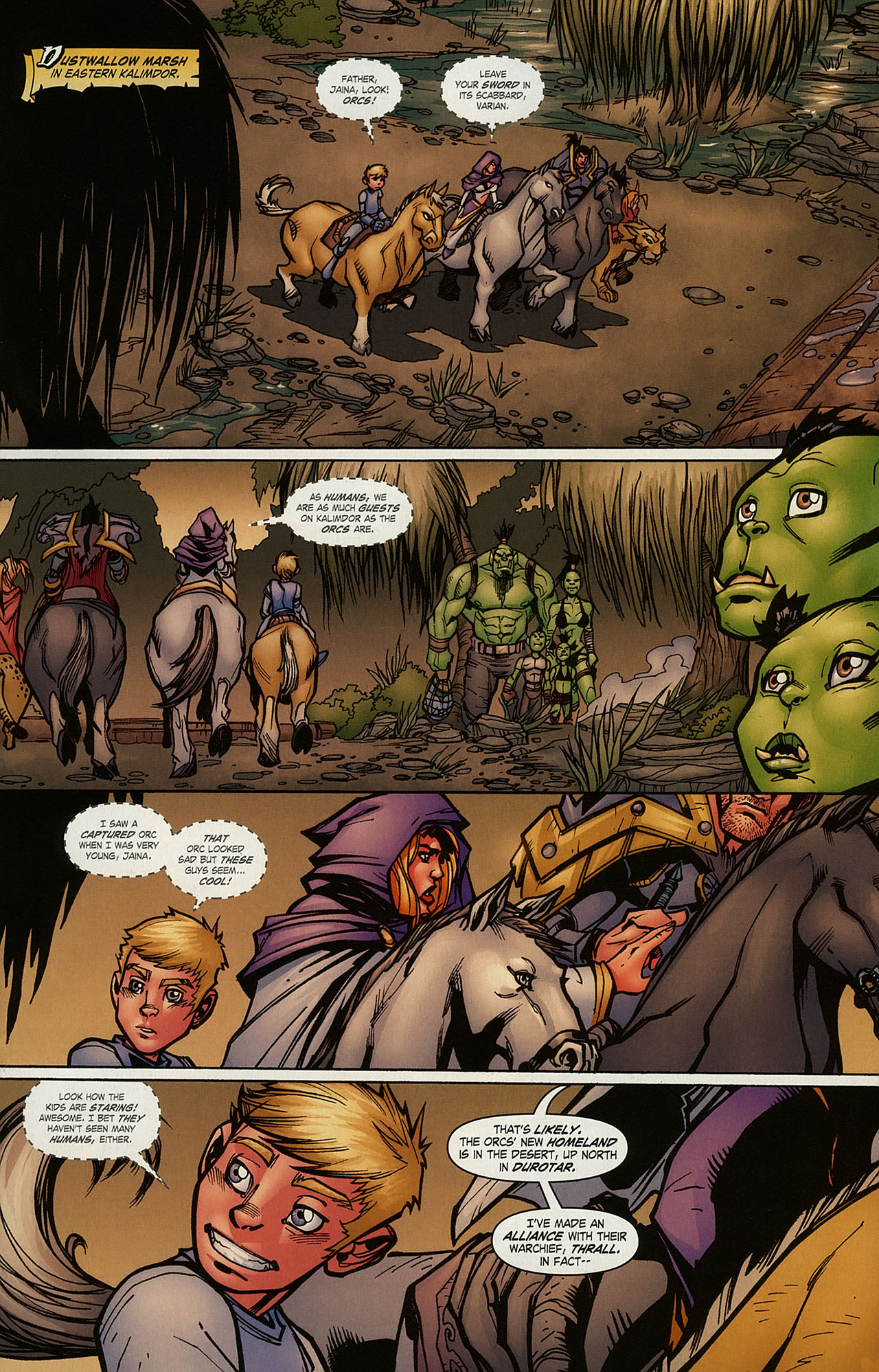 Read online World of Warcraft comic -  Issue #15 - 8