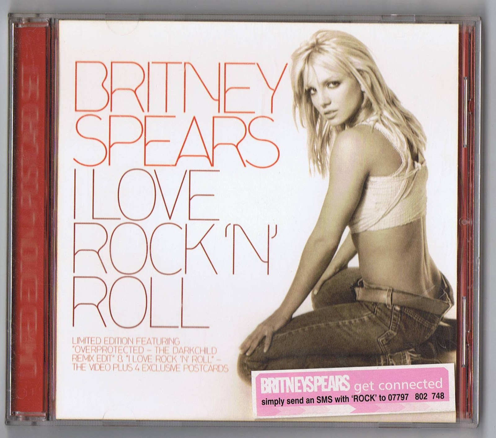 Britney Spears Collection: I Love Rock 'N' Roll [UK Limited