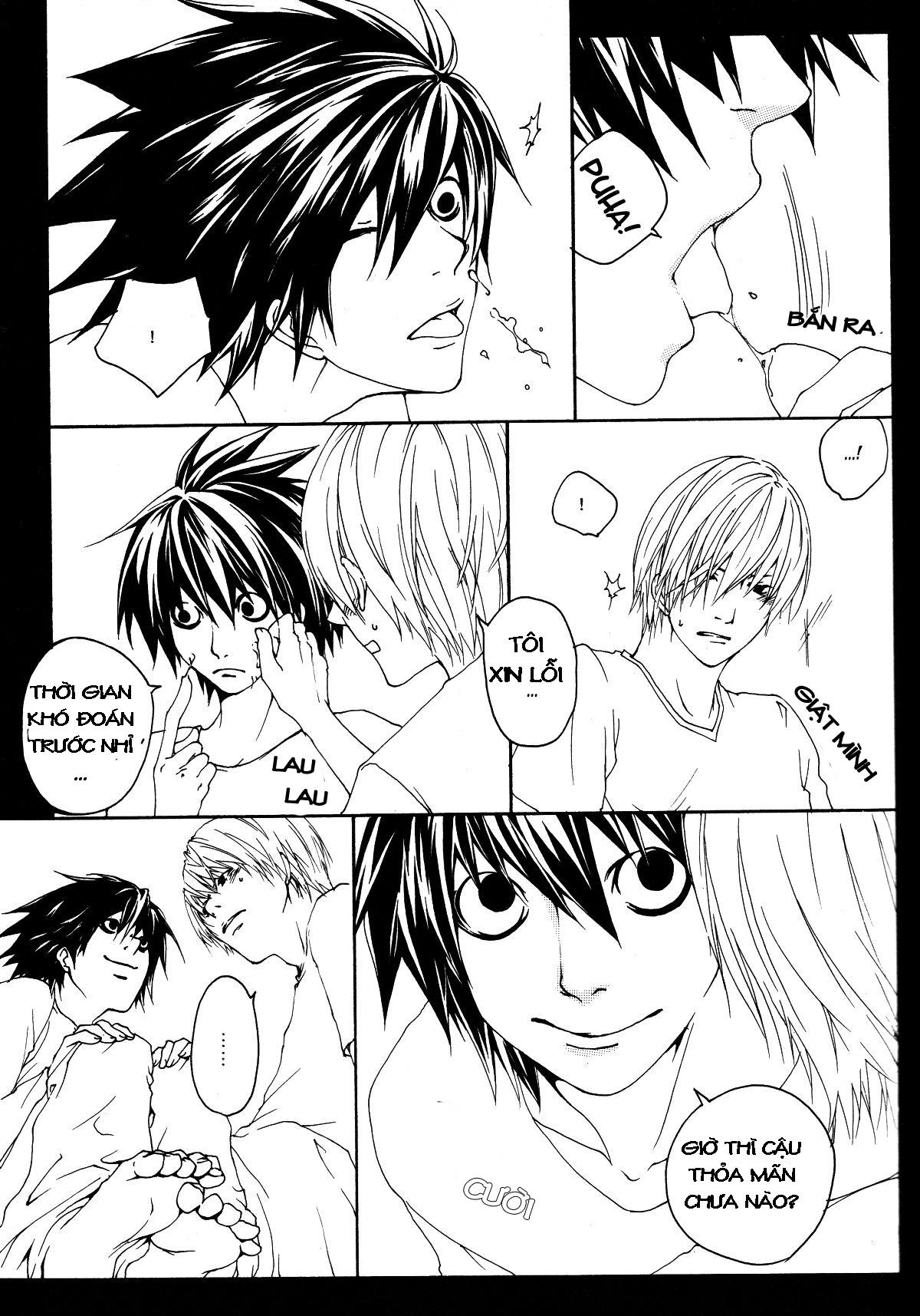 Hình ảnh 023 in Death Note Doujinshi - Feather Plus