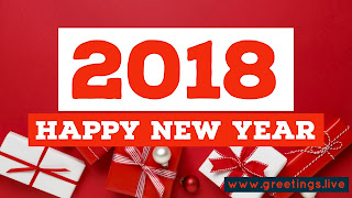 English Greetings on New Year 2018