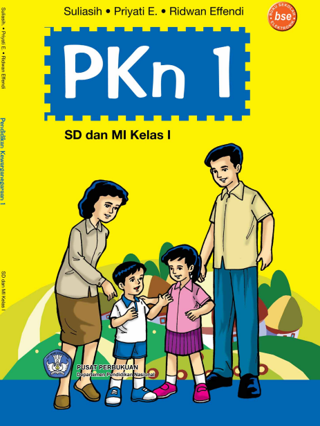 Pkn 1 Untuk SD Kelas 1