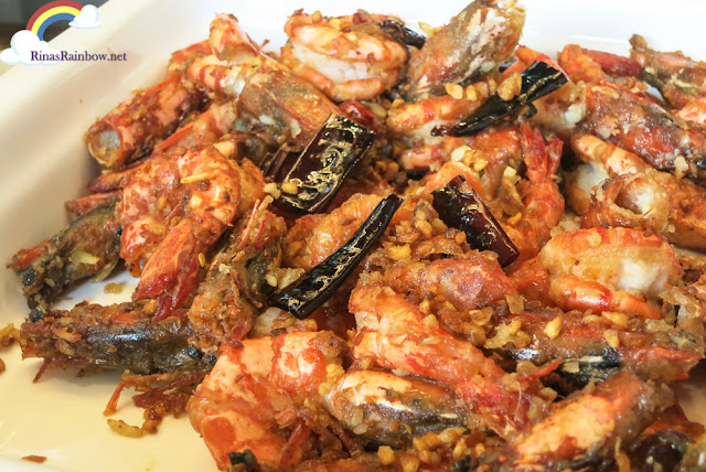 Harbour-style Prawns
