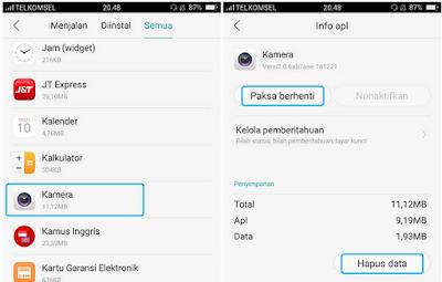 Cara Memperbaiki Kamera Tidak Berfungsi di Android
