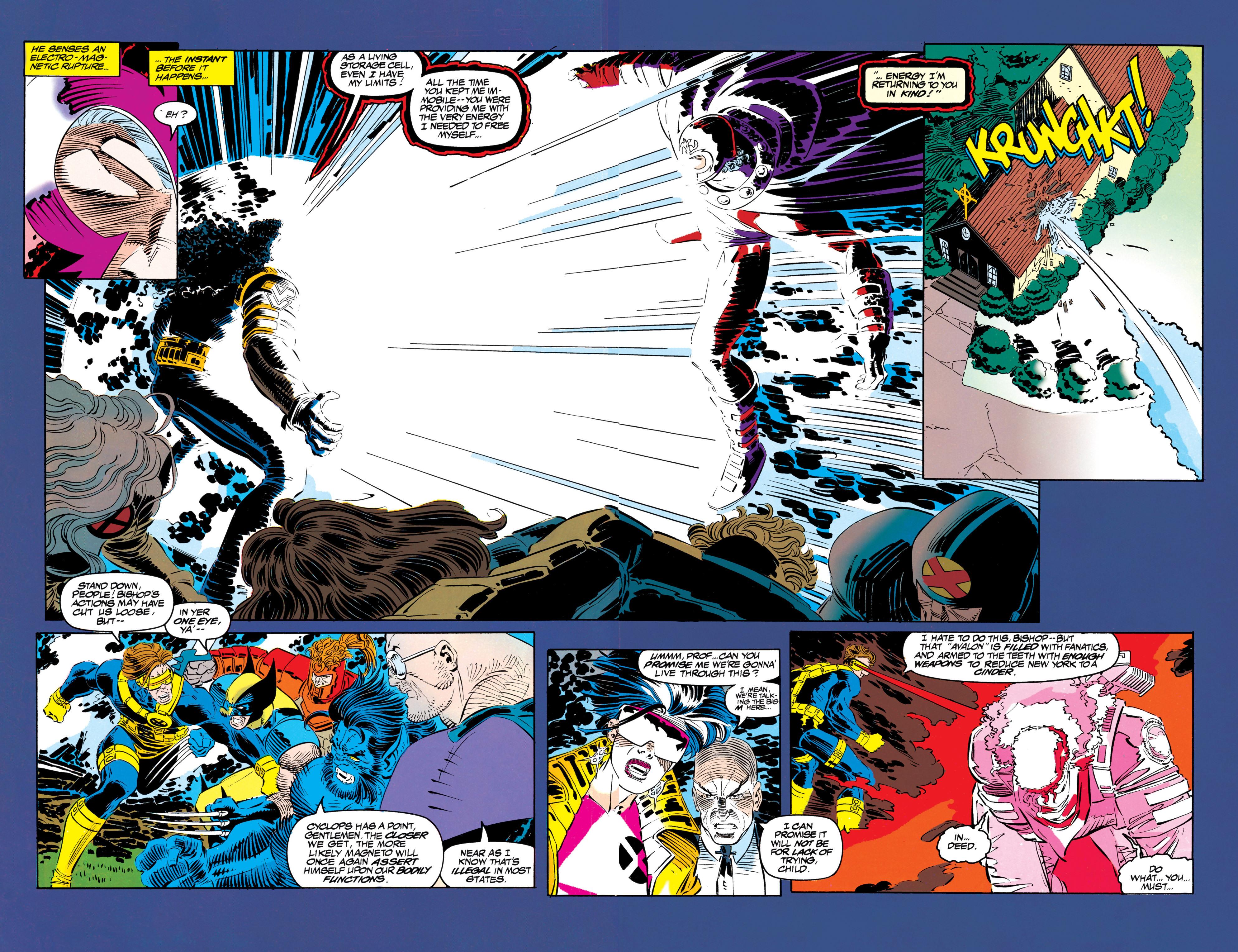 Read online Uncanny X-Men (1963) comic -  Issue #304 - 34
