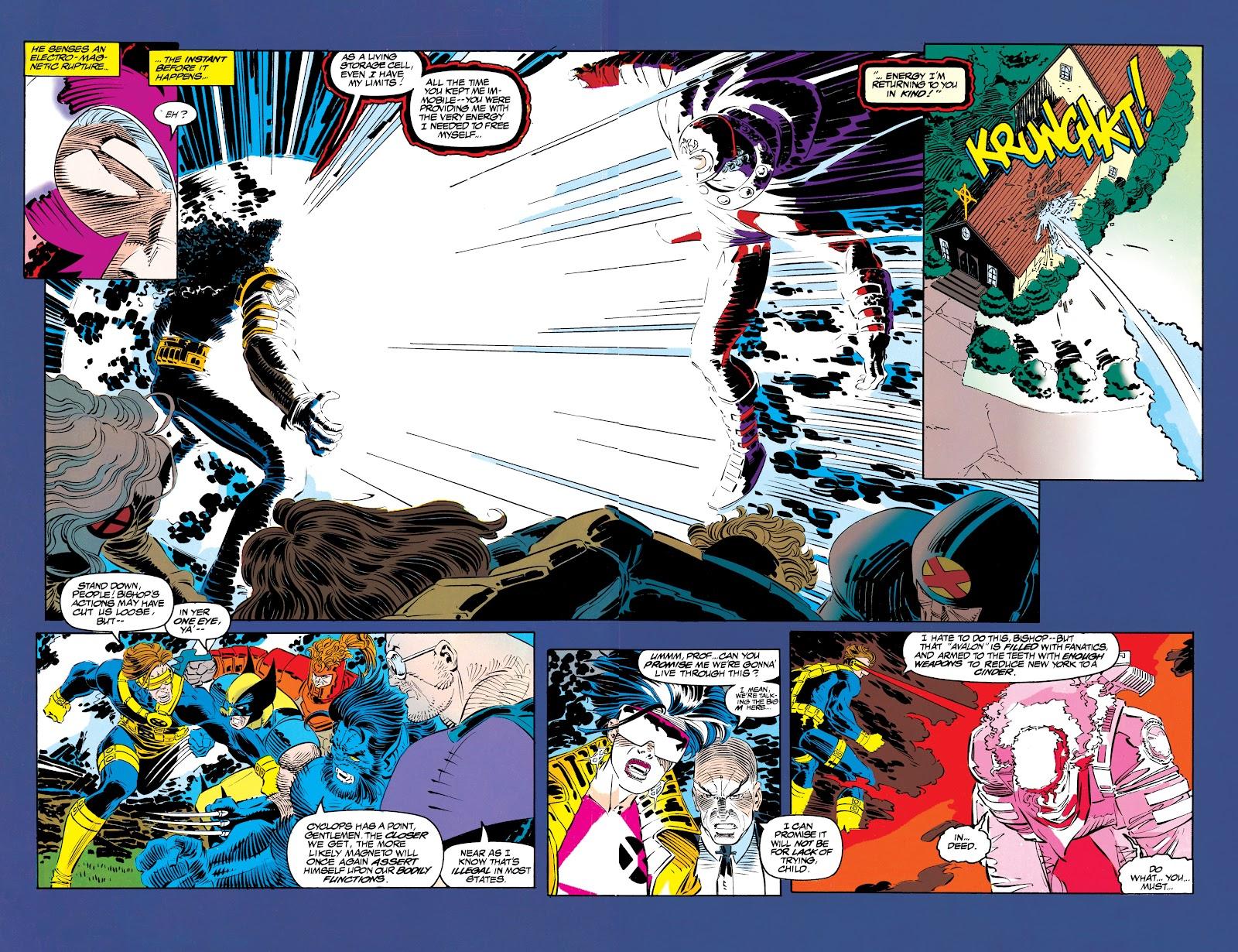Uncanny X-Men (1963) issue 304 - Page 34