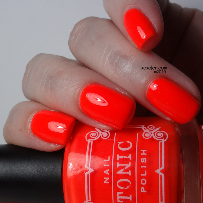 xoxoJen's swatch of Tonic False Alarm!