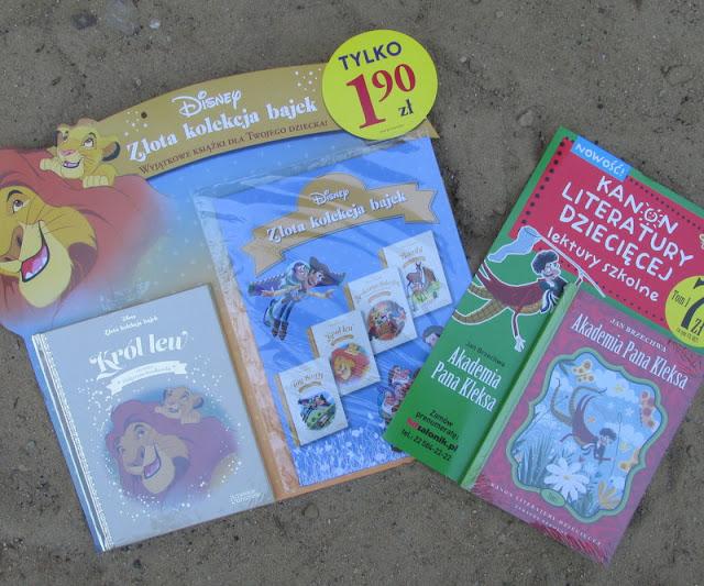 Bajki Disneya czy lektury szkolne, czyli co wybrać?