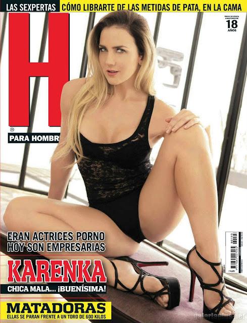 Karenka Revista H para Hombres Junio 2015 PDF