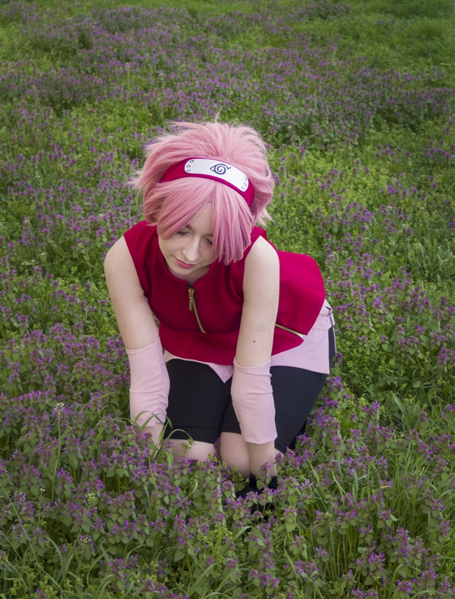 Sakura Haruno photography
