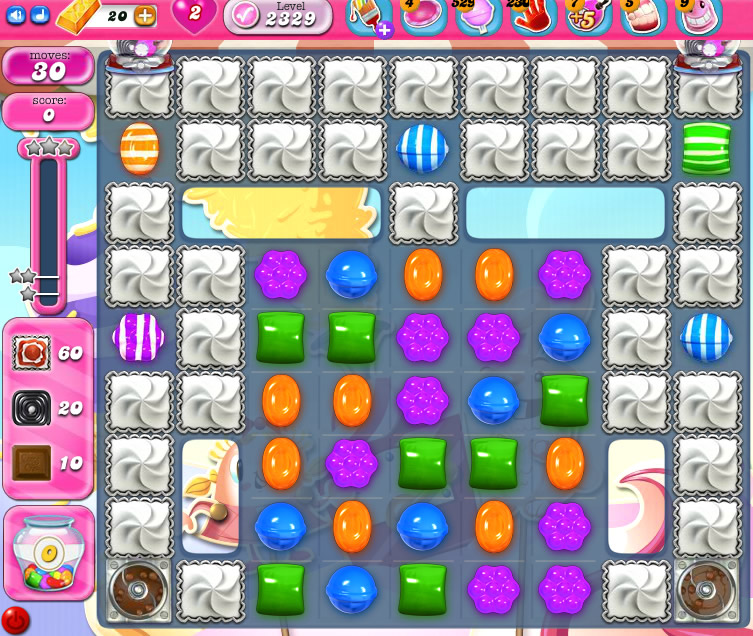 Candy Crush Saga level 2329