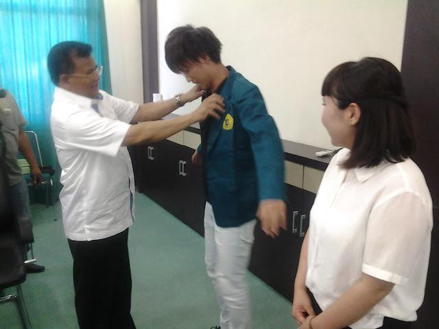 Mahasiswa Jepang Belajar di Universitas AlMuslim Bireuen