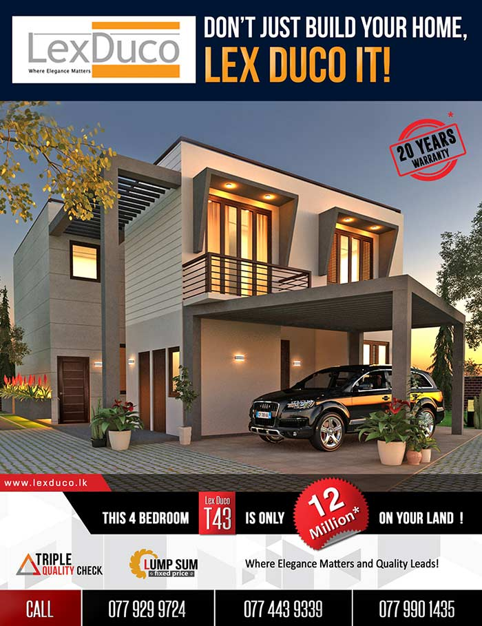4 Bed Lex Duco T43 Is Only 12 Mn On Your Land