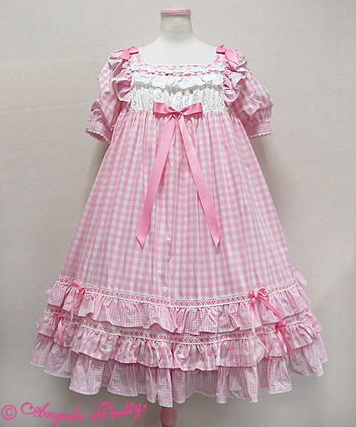 Mintyfrills Angelic Pretty Gingham Dress