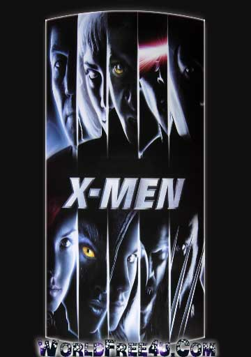 Poster Of X Men (2000) In Hindi English Dual Audio 300MB Compressed Small Size Pc Movie Free Download Only At worldfree4u.com